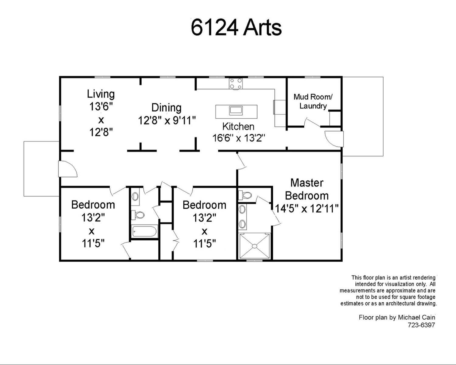 6124 Arts Floor Plan Updated